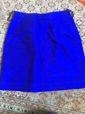 Cobalt Blue Silk Vintage Anokhi Size M Skirt