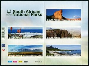 HERRICKSTAMP NEW ISSUES SOUTH AFRICA National Parks 2017 Sheetlet