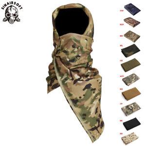 Shemagh Military Arab Army SAS Keffiyeh Desert Scarf Wrap Scrim Sniper Face Veil