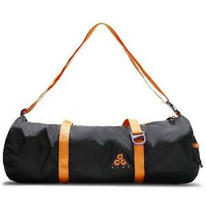 Nike ACG Lightweight Gym Duffle Bag Packable 100% Nylon Black Travel BA5840-537