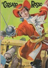 Il corsaro rosso. Illustrazioni di G. Zamperoni.