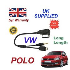 VW Polo MMI para HTC One E8 M8 deseo Mini Samsung 3.5 mm Cable Micro USB y AUX L