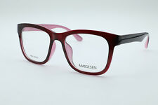 TR90 Square Eyeglass Frames For women Glasses Frames Full-rim Eyewear Wine