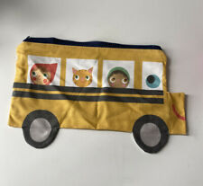 Handmade Product Sample School Bus Pencil Case Bag