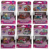 Shopkins Cutie Cars 1 QT CARS DIE CAST + Includes 1 Mini Shopkins - Series 3