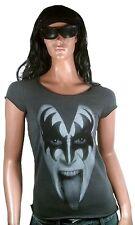 AMPLIFIED Official KISS Gene Simmons Rock Star Vintage Designer ViP T-Shirt g.XS