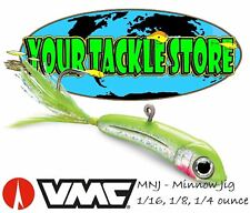 VMC MNJ Minnow Jig 1/16 1/8 1/4 DISCONTINUED Pick Color & Size NIP Iceforce