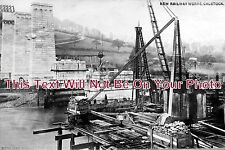 CO 153 - Building Of Calstock Viaduct, Cornwall 1907 - 6x4 Photo