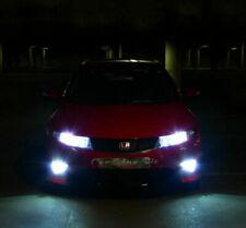 2x H11 Bulbs Fog Light LED Cree Cob White 6000K Canbus Honda Civic MK8 2005-2012