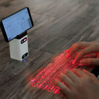 Bluetooth virtual laser keyboard Wireless Projection with Mouse function
