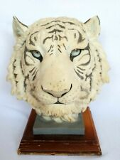 More details for shudehill white tiger 14'' bust siberian tiger collectable
