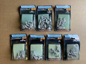 Rogue Trader 1987 OOP NIB Citadel Warhammer 40k Miniatures Vintage - Lot Of 7
