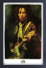 BOB MARLEY LEGENDARY 13x19 FRAMED GELCOAT POSTER REGGAE JAMAICA MUSIC ICON GANJA