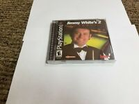 Jimmy White's 2: Cue Ball (Sony PlayStation 1, 2000) ps1