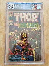Marvel The Mighty Thor 133 CGC 5.5 Ego cover Custom Label