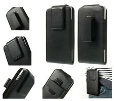 Magnetic Leather Holster Case Belt Clip rotary 360º for => SONY Xperia M2 Aqua