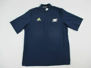 Akron Zips adidas Pullover Men's Navy Short Sleeve Pullover Used Large