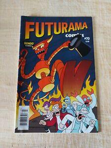 Futurama #70 Newsstand Variant Bongo Comics