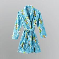 NEW DISNEY FAIRIES TINKERBELL PLUSH Fleece Bath Robe Pajama Girl sz M 7/8 - nwt