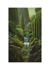 Andreas Scholz Das kühle Bad Poster Kunstdruck Bild 70x50cm - Portofrei
