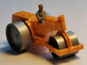 WIKING Straßenwalze orange GK 2003 650/3 1966 1:87