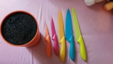 TCM bunter Messerblock mit  Messern