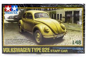 Tamiya 1/48 Volkswagen Type 82E Scaled Plastic Model Kit