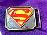 Superman 1944 Lee CDC Comics Belt Buckle 70's reproducion Made in New York