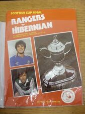 12/05/1979 Scottish Cup Semi-Final: Rangers v Hibernian [At Hampden Park] (Faint