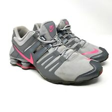 Nike Shox Current Size 8.5 / 7Y Women's Wolf Grey Hyper Pink Shoes 739638-060
