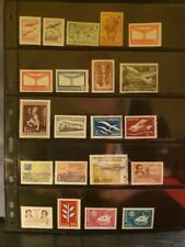 Argentina Airmail Stamps Lot of 48 - MNH - see details for list