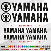 6 X PEGATINAS YAMAHA STICKER VINILO PACK SPONSOR MOTO AUTOCOLLANT LOGO PACK