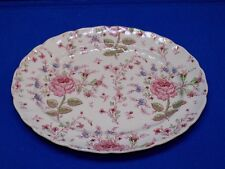 """Rose Chintz by Johnson Bros Brothers Made in England 11.75 x 9.75"""" Platter Plate"""
