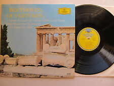 Beethoven Ouverturen, ( Overtures), DGG 135 041 Stereo. made in Germany Tulips