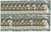 x40 PETE ALONSO 2020 Topps National Baseball Card Day #1 lot/set New York Mets!!