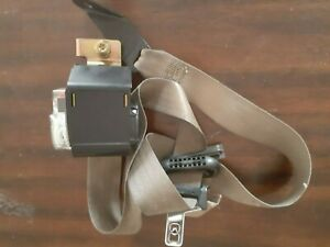 Ford Expedition Right FRONT Side Seat Belt Retractor OEM 99-02 Factory Tan color