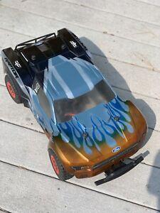 Traxxas Slash 4X4 VXL LCG. New custom body. fast!