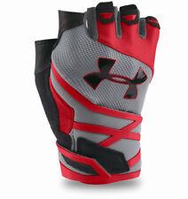 Under Armour UA RESISTOR Half-Finger Training Gloves Style 1253690-036 Size M