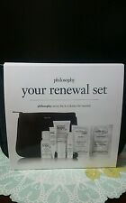 Philosophy Your Renewal Set Kit Hope in a jar microdelivery peel Time Renewed