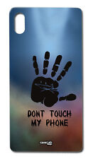 CUSTODIA COVER CASE DON T TOUCH TELEPHONE NON TOCCARE PER SONY XPERIA Z1 C6903