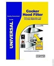 UNIVERSAL COOKER HOOD EXTRACTOR GREASE FILTER PAPER SATURATION INDICATOR 2 PACK