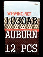 12 LOTS  THE CHALLENGER WEAVING NET FOR SYNTHETIC& HUMAN HAIR AUBURN 1030AB