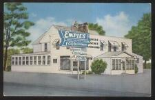 Postcard Troy New York/Ny Empie's Leisure Dining Restaurant view 1930's