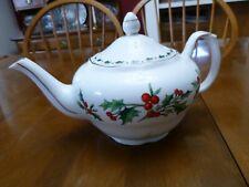 A Cup Of Christmas Tea Bone China Teapot 1992