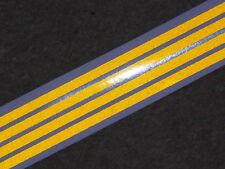 TAMIYA 1/14 SCANIA MAN VOLVO truck TRAILER REFLECTIVE yellow tape strips HI-VIS