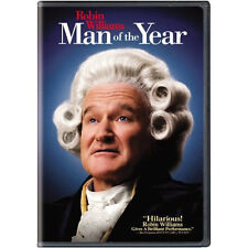 MAN OF THE YEAR (Widescreen DVD) <<BRAND NEW!>> (FREE SHIPPING!!) ROBIN WILLIAMS