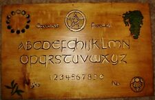 hand made wooden ouija spirit talking board God/Goddess