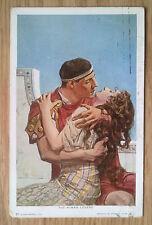 POSTCARD: THE ROMAN LOVERS: c1902-18