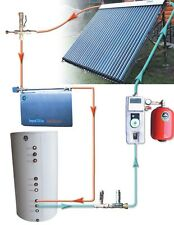 Solar Water Heater 120 Gal System / Heat Dissipater Solar Collector Solar Pump