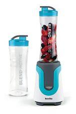 Breville Blend Active - Personal Blender Smoothie Maker Sports Bottle Blue New